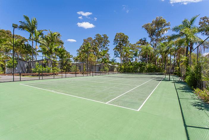 treasure island tennis court