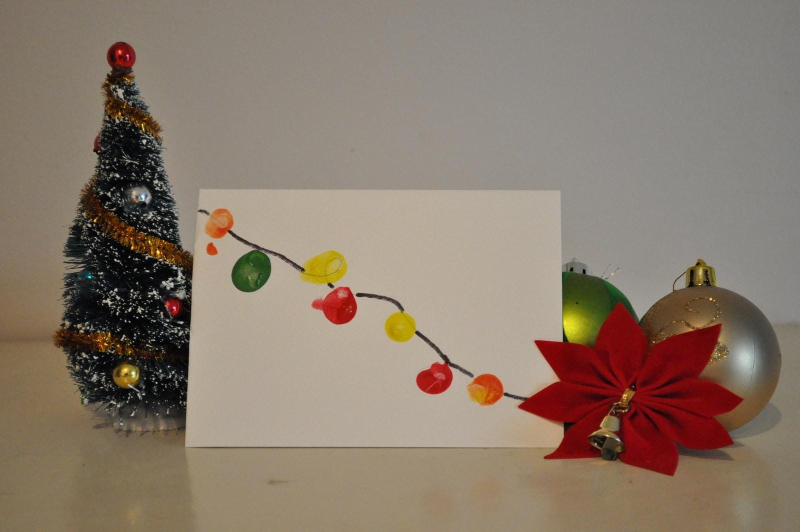Homemade christmas card ideas to do with kids for Christmas cards made