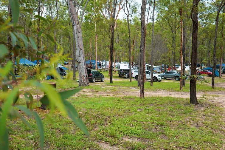 murphys creek campsite.