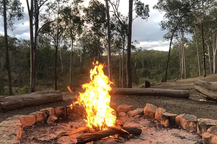 camp fire at murphys creek escape