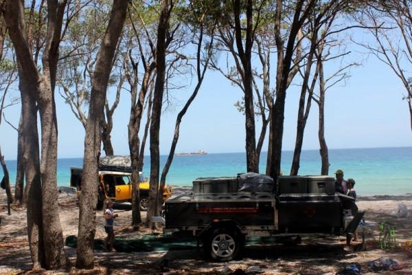 Moreton Island North West Camping Zone • Brisbane Kids