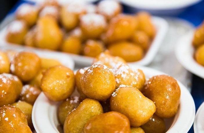 Honey Puffs at the Greek Festival Brisbane