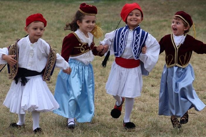 Greek Festival Brisbane, Greek Performances with kids