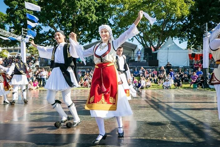 Paniyiri Greek Festival Brisbane, Dancing, Greek Dancing
