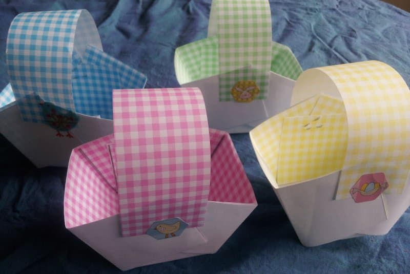 Making paper baskets