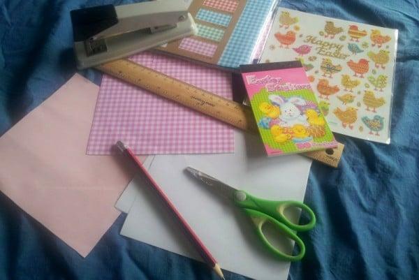Making paper baskets