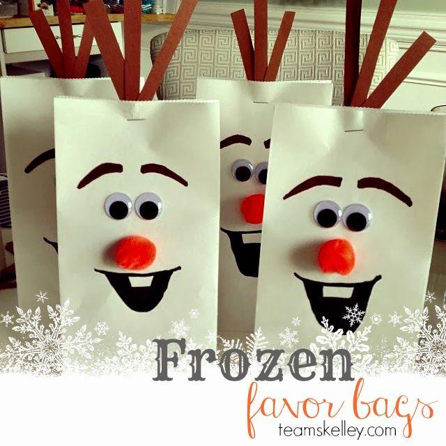 frozen party bags