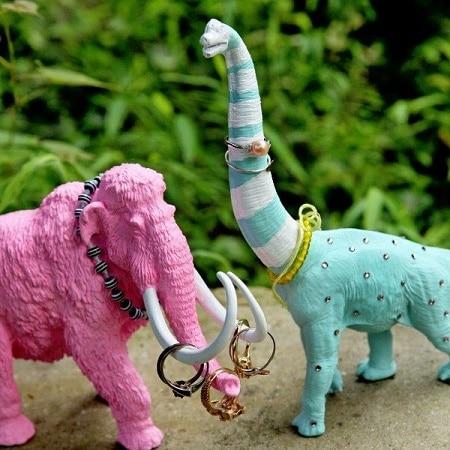 dinosaur ring holders