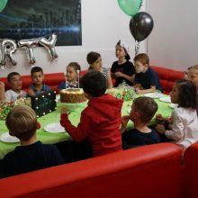 children's birthday party indoors