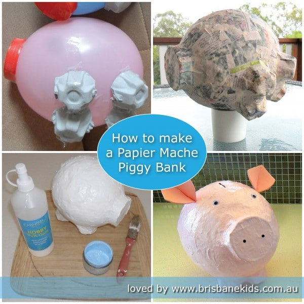 Making A Piggy Bank Craft
