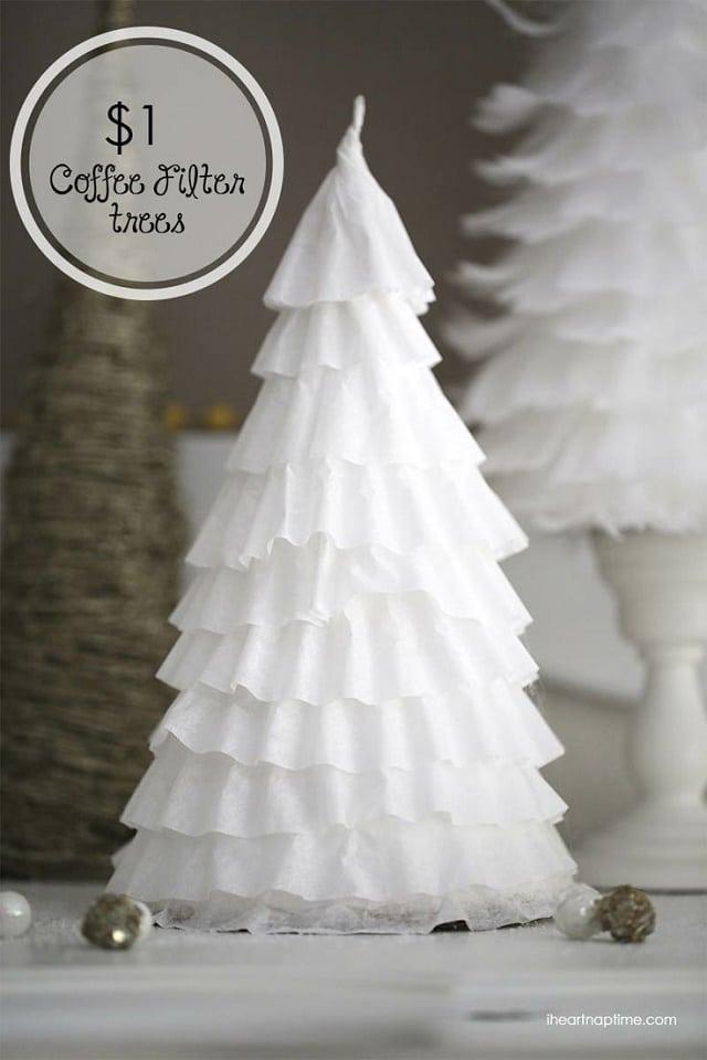 Make Christmas Tree Coffee Cake