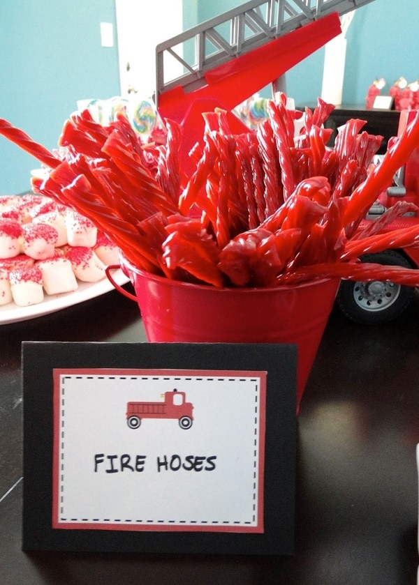 Firefighter Party Food Ideas