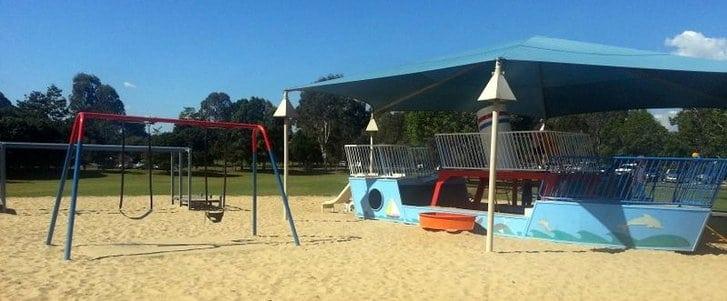 Riverdale Park boat playground