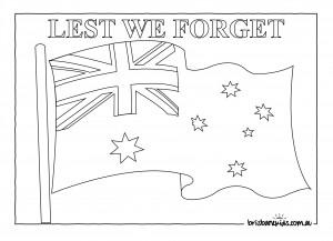 BK ANZAC Australian Flag