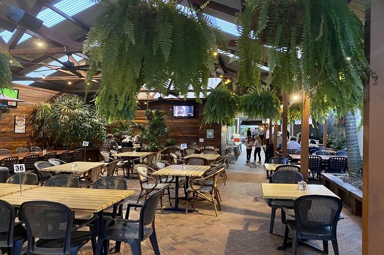 Dining area at Samford Hotel