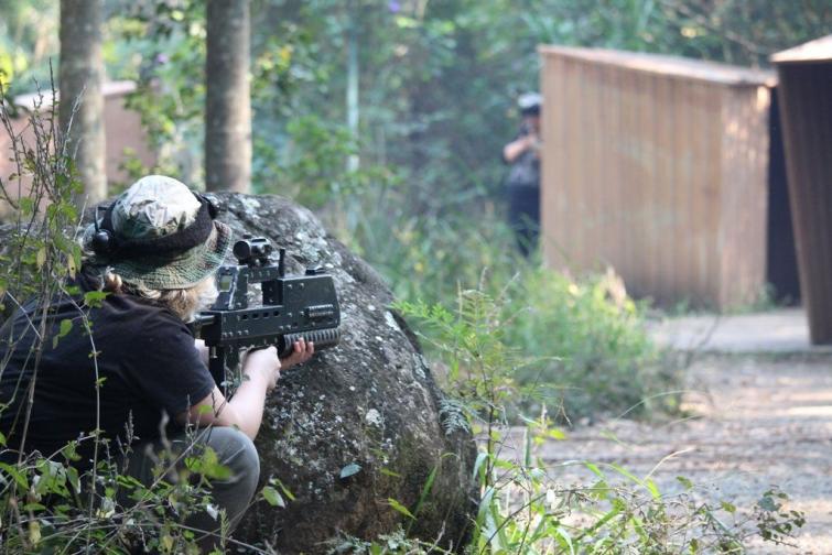 Laser Skirmish at Thunderbird Park