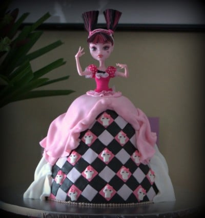 Monster High Cake Decorations Brisbane