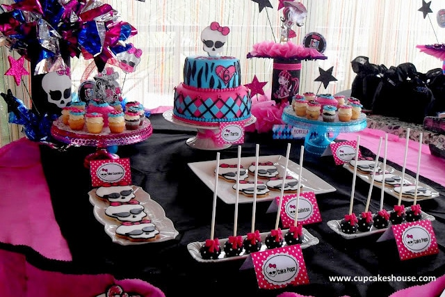 Super Creepy And Awesome Monster High Party Ideas