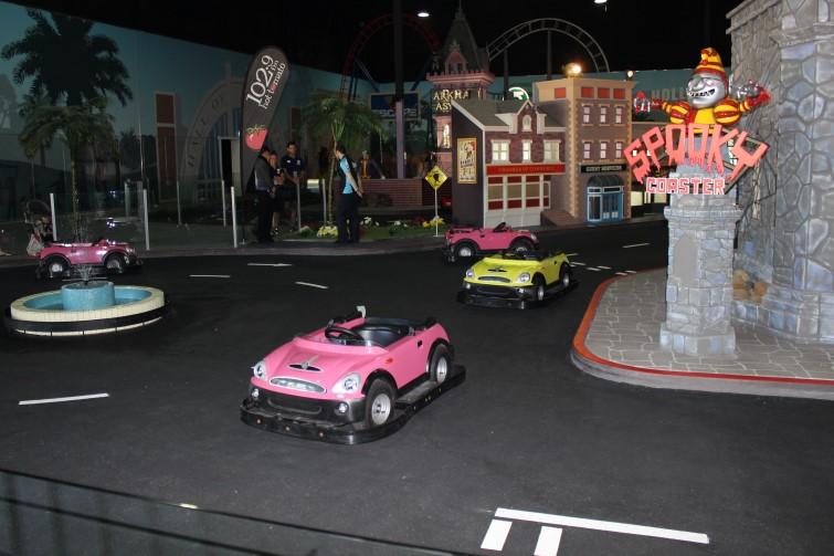 Kids Driving School at Movie World