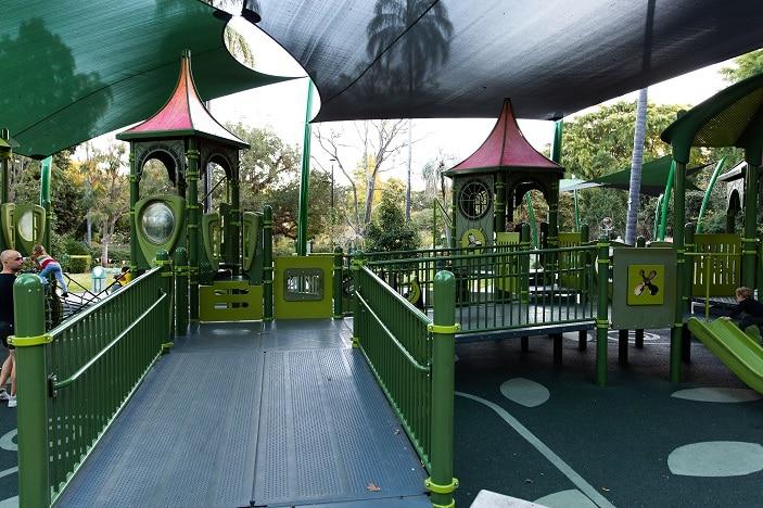 accessible playground brisbane