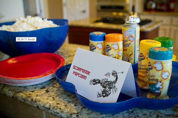 Top Transformers Party Ideas