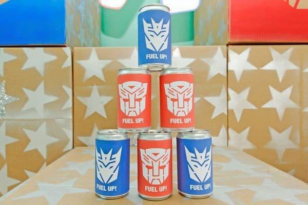 Transformers Birthday Party Food Ideas