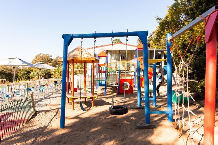 bli blie cafe and playground.