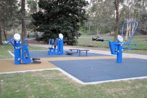 shailer park fitness equipment.