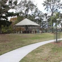 Bike paths at Jubilee Park