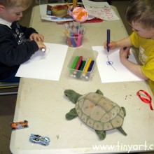 Tiny Art classes for kids