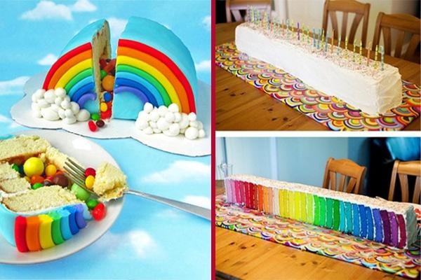 Rainbow Cake Brisbane