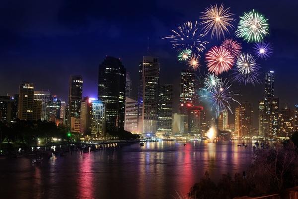 Best Fireworks Vantage Points In Brisbane For Families