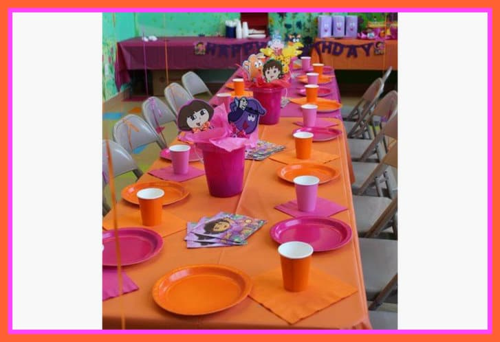 Ideas for a Dora party