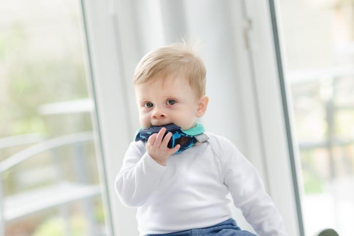 Teether bib for babies