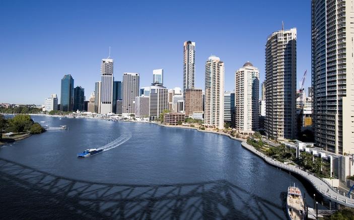 Fun on the Brisbane River