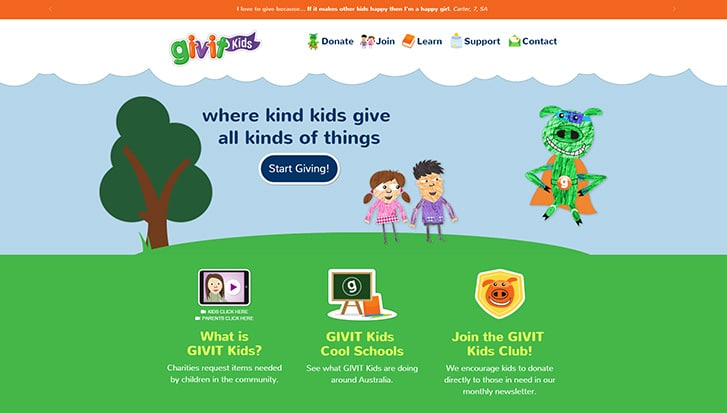 GIVIT_Kids_BK_Website
