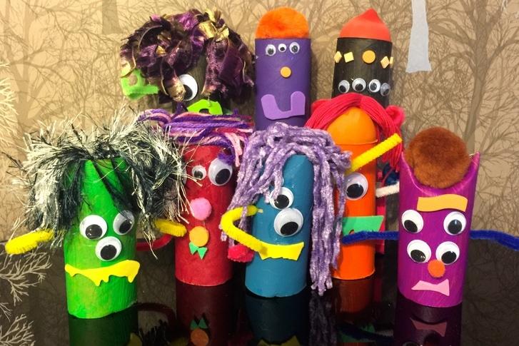 Halloween monsters feature