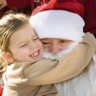 Santa Gets a Bear Hug