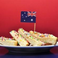 fairy bread for Australia Day