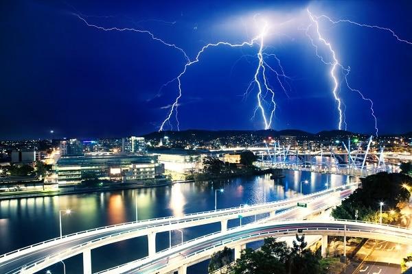 brisbane during storms