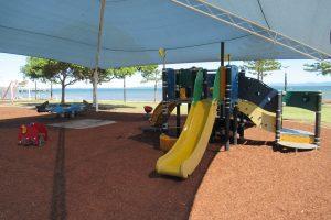 yellow slide, crockatt park