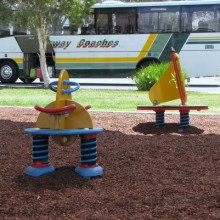 Springy toys at Crockatt Park