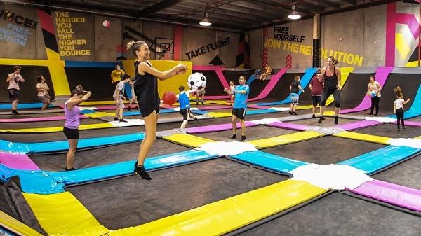 Indoor Trampoline Fun In Brisbane With Bounce Brisbane Kids