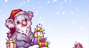 Christmas Australian Colouring Sheets