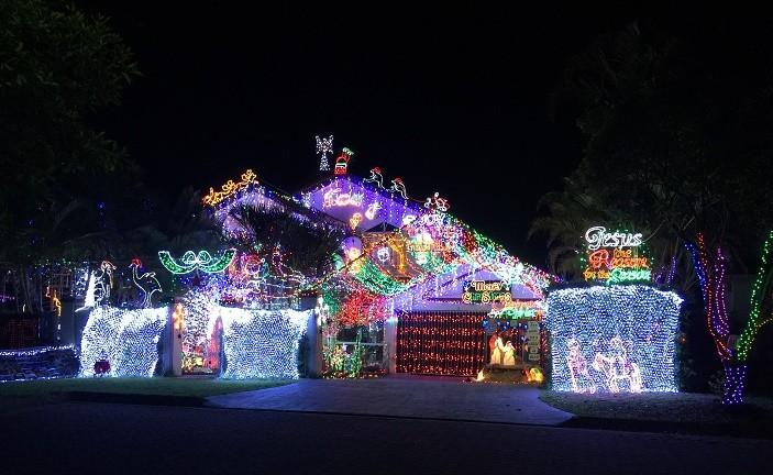 the best christmas lights brisbane