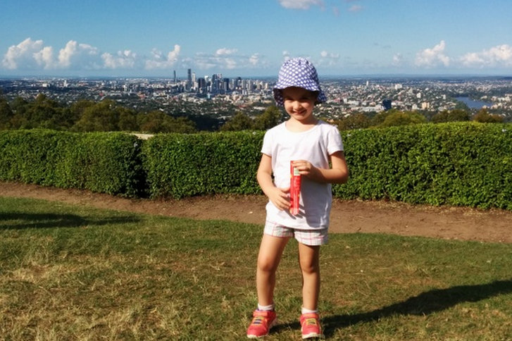 Mt Coot-that with kids