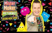 Mister Maker and the shapes brand new show poster Mister Maker returns