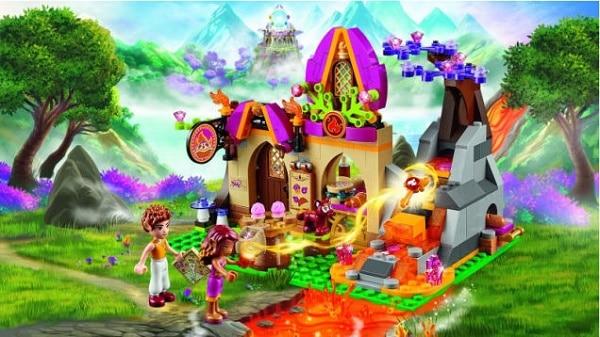 Ausmalbilder Lego Elves Drachen: Brisbane Kids