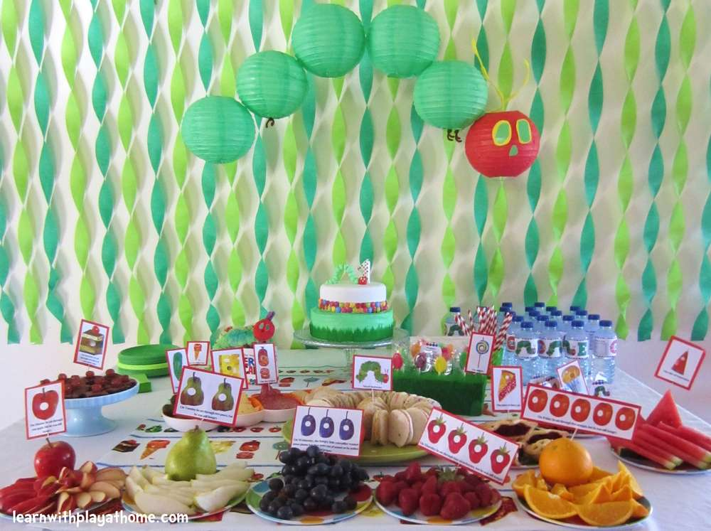 Hungry Caterpillar Decoration Ideas