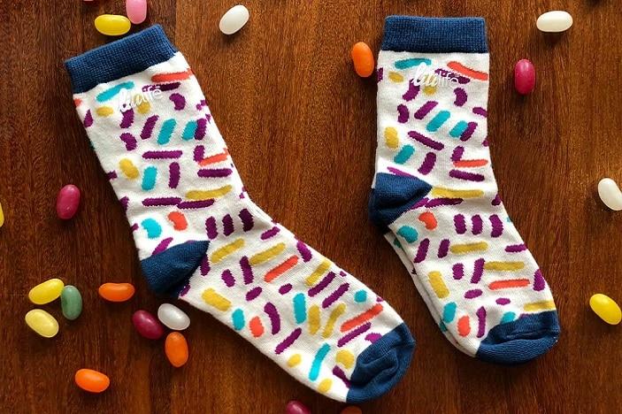 socks, candy socks